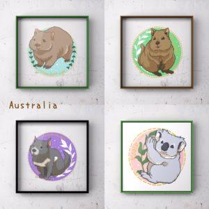 オーストラリアの生き物